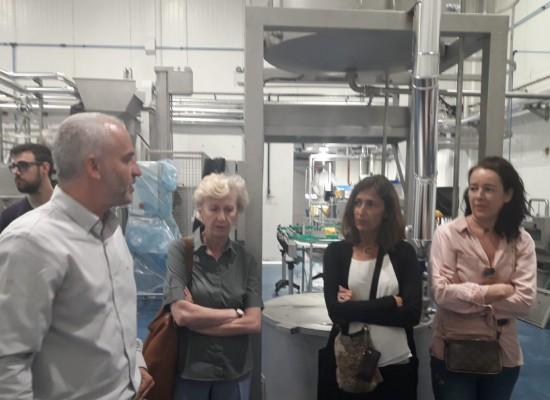 Visita a la planta de transformación de Atades – Proyecto Ecocinando