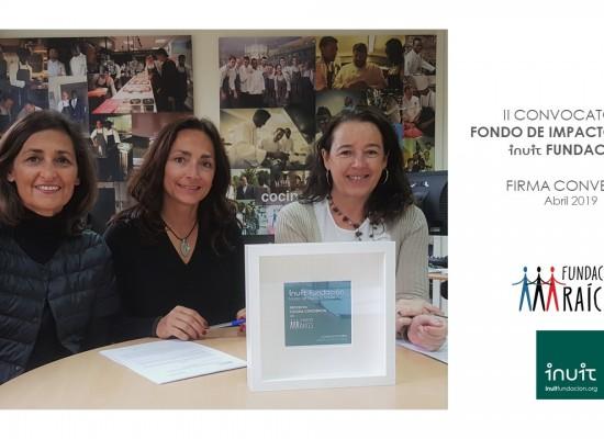 Firma de convenio con Fundación RAÍCES