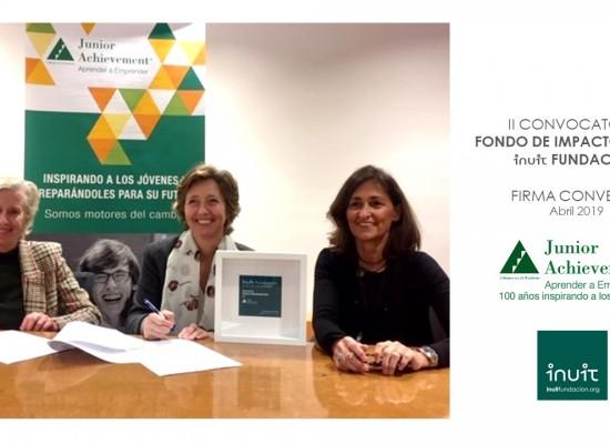 Firmamos convenio con Fundación Junior Achievement
