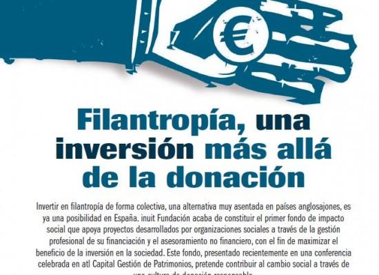 """Filantropía – reportaje """"Directivos y Empresas"""" edición Mayo `17"""