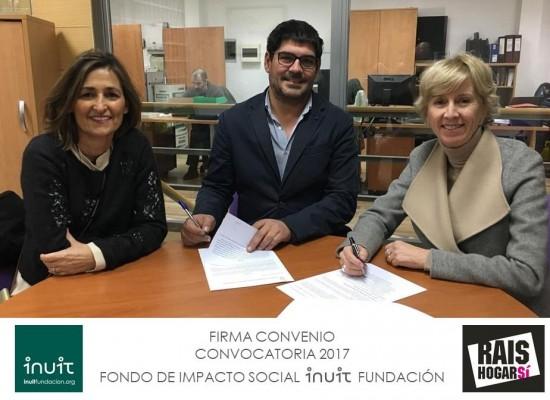 Firmamos Convenio con Rais Fundación