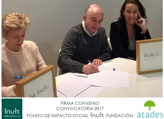 Firmamos Convenio con ATADES